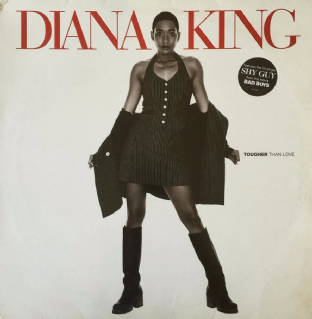 Diana King ‎- Tougher Than Love (LP) (G-VG/VG-)